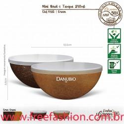 441G Mini Bowl Green 240ml com tampa