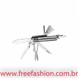 00693 Canivete de Metal 11 funções