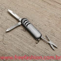 11395 Mini Canivete de Metal 3 Funções