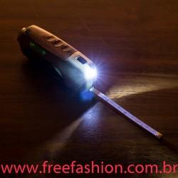 13689 Kit Ferramenta 6 Peças com Lanterna Trena e Nível