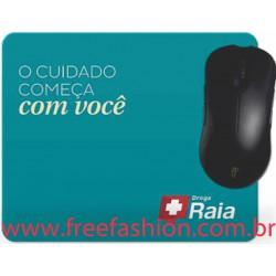 FREE 017 MOUSE PAD 20 X 15 CM PERSONALIZADO E LAMINADO COM PVC