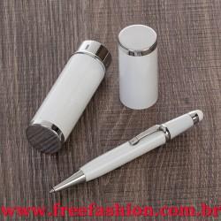 13182 Mini Caneta Semimetal com Estojo