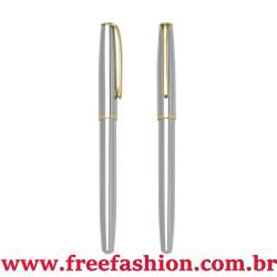 00833 Caneta Metal Roller