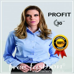 111 PROFIT CAMISA SOCIAL MASCULINA & FEMININA