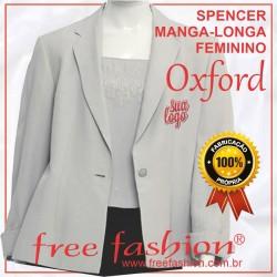 0009-O SPENCER/COLETE FEMININO OXFORD MANGA LONGA