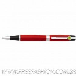 FE50351 Caneta Sheaffer Ferrari F 300 Roller Laca Vermelha