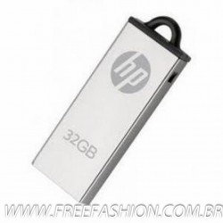 MC - PEN DRIVE METAL MINI CROMADO HP