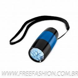 34000   Lanterna Alumínio. Com 6 LEDs