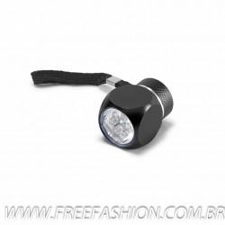 94732  Lanterna Alumínio Com 6 LEDs. Incluso 2 pilhas