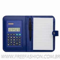 1620 bloco de anotações com calculadora e caneta
