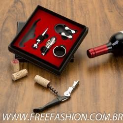 13406 Kit Vinho 5 peças