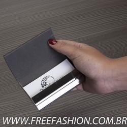 8847 Porta Cartão de Metal