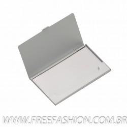 2249 Porta Cartão Alumínio