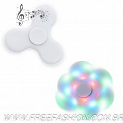 2056 Spinner Anti-Stress Plástico com Led e Bluetooth