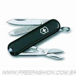 0.6223.3  Canivete Classic Victorinox Preto