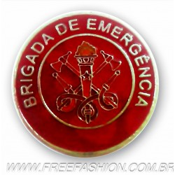 010 - BOTTON BRIGADA DE EMERGÊNCIA 30 MM