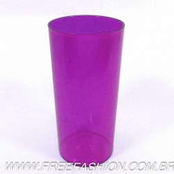 0320G Long Drink Economico 320 ML Roxo Glitter