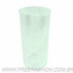 0320G Long Drink Economico 320 ML Cristal Glitter