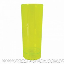 0330 COPO LED LONG DRINK 330 ML AMARELO