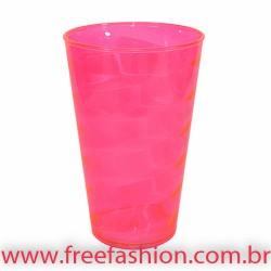 0550 COPO ESPIRAL 550 ML COR ROSA PINK