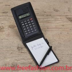 12521 Bloco de Anotações com Calculadora e Caneta